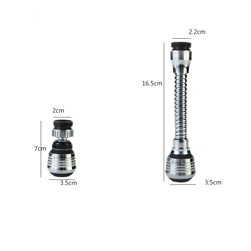 vanzlife Home faucet water saving device kitchen accessories splash extension shower head extended blister nozzle filter 6