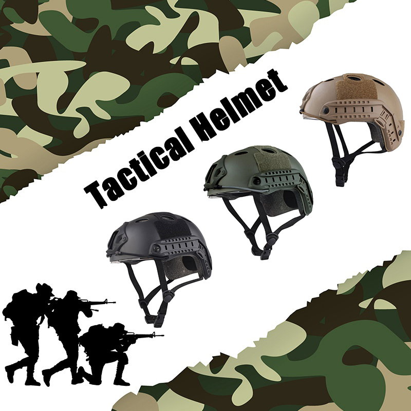 Army Military Tactical Helmet Cover Airsoft Abs Protective Accessories Paintball Mask Helmets