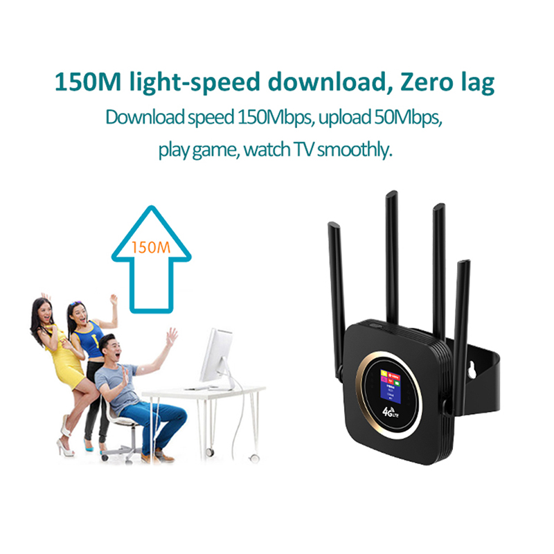 TIANJIE CPE904 router 4g sim kaart 4G wifi router hotspot 4G LTE modem 3000mah batterij pocket wifi modem CPE 4g wifi CPE router - 4
