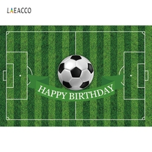 Laeacco Sports Football Soccer Field Birthday Party Wall Photographic Backdrops Custom Photography Backgrounds For Photo Studio laeacco mardi gras carnival nights mask dinner party wall decorations photography backgrounds photographic backdrops for photo