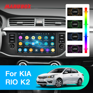"""Image 2 - Marubox KD9638 DSP, 64GB 1 Din Car Multimedia Player for Kia Rio 2017 +, 9"""" IPS Screen with GPS Navigation, Bluetooth, Android 9"""
