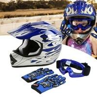 DOT Kids Youth Child Kids Helmet Offroad Dirt Bike ATV Girls Boys Safety Sports Cycling Helmets casco moto gifts Cycling kask 3