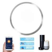 Умный Wi-Fi потолочный светильник 48 Вт с регулируемой яркостью светодиоды приложение для облачного интеллекта дистанционное управление 390 мм...