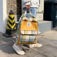 Backpack Women Backpack Retro Student School Bag Teenage Girl Backpack Large Capacity Shoulder Bag Travel Bagpack Back To School