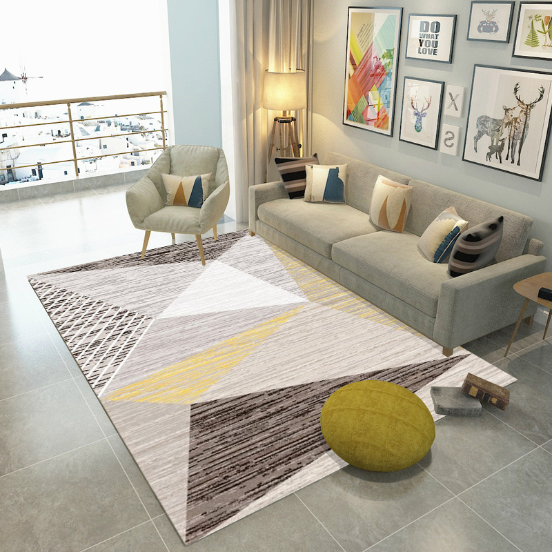 Simple Modern Abstract Chinese Ink  Geometric Carpet Bedroom Kitchen Door Mat Living Room Floor Mat Carpets Area Rug|Carpet|   - title=