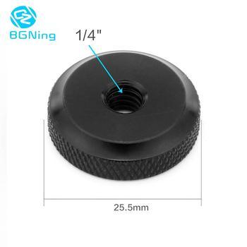 BGNING Hot Shoe Mount Metal Nut Flash Speedlite Adapter for 1/4