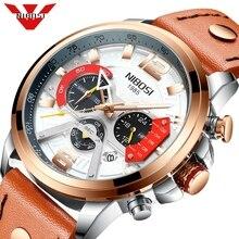 NIBOSI New Watch Men Brand Men Sport Watches Mens Quartz Clock Man Casual Military Waterproof Wrist Watch Relogio Masculino