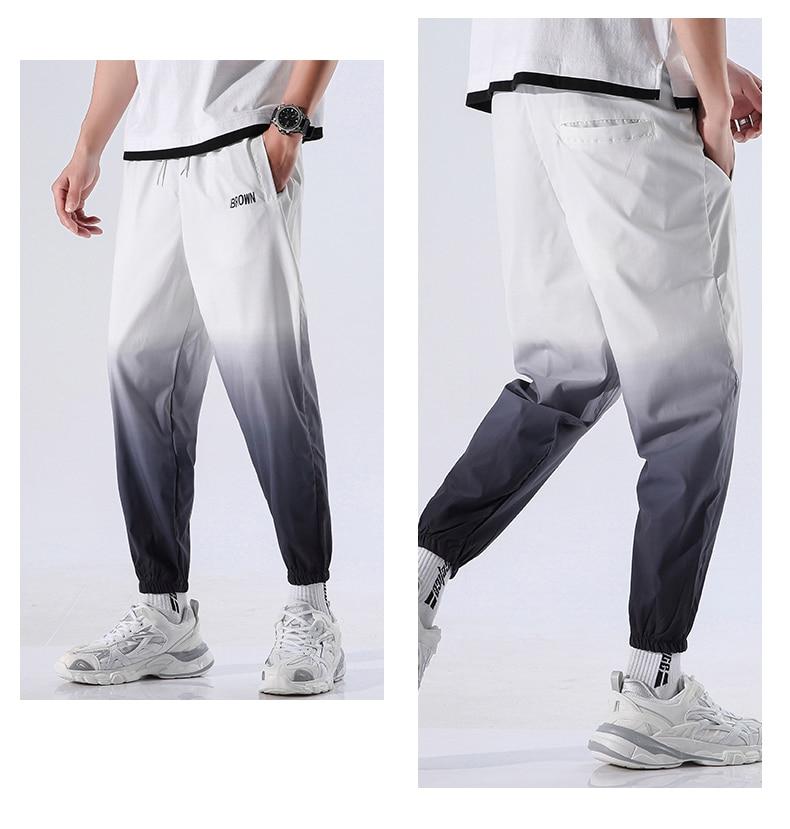 Loose Workout Pants for Men Mens Clothing Pants & Joggers
