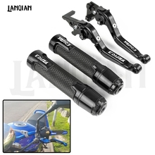 For Yamaha YZF R3 YZF-R3 Motorcycle CNC Brake Clutch Lever & 7/8 22MM Handlebar Grips YZFR3 2015 2016 2017 2018 2019 Accessories still steds 8 18 r3 [03 2018] expire patch