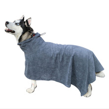 XS-L Pet Dog Bathrobe Super Absorbent Bath Towel For Small Medium Golden Teddy Dogs Drying