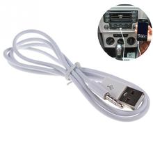 1PC samochód AUX telefon USB 3 5MM kabel Audio akcesoria do wnętrz samochodowych do samochodu MP3 głośnik U dysk Flash akcesoria tanie tanio Chizequar 1 meter and 15cm aluminum alloy wire Car AUX car phone audio cable Car AUX audio cable 1m 15cm High shielding fidelity design