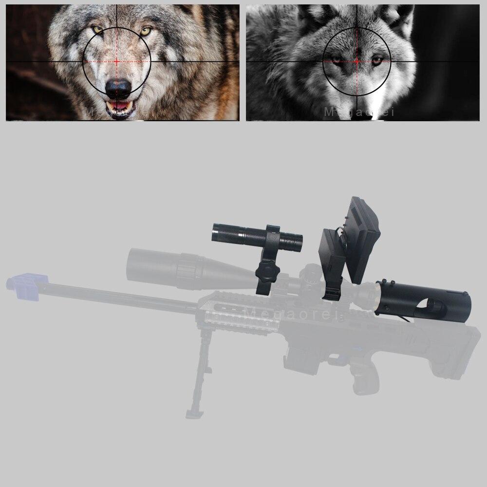 Beste Jagd optics anblick Laser Infrarot nachtsicht Fernglas mit Infrarot Taschenlampe und monitor