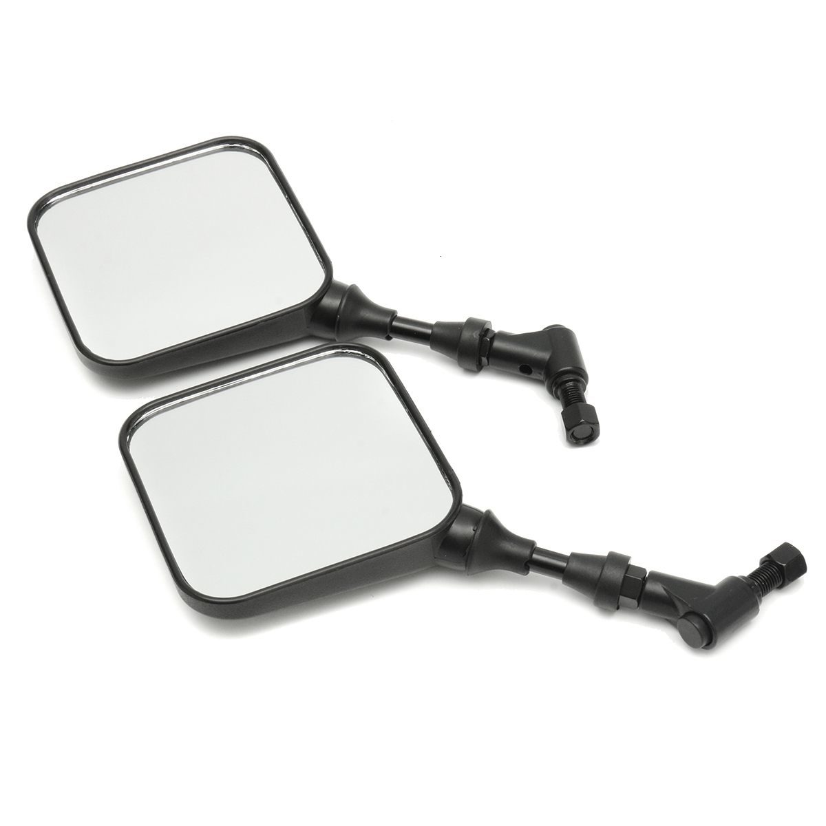 1Pair Motorcycle Mirrors Rear View Side Mirrors For Suzuki DR 200 250 DR350 350 DRZ 400 650 DR650 Moto Accessories image