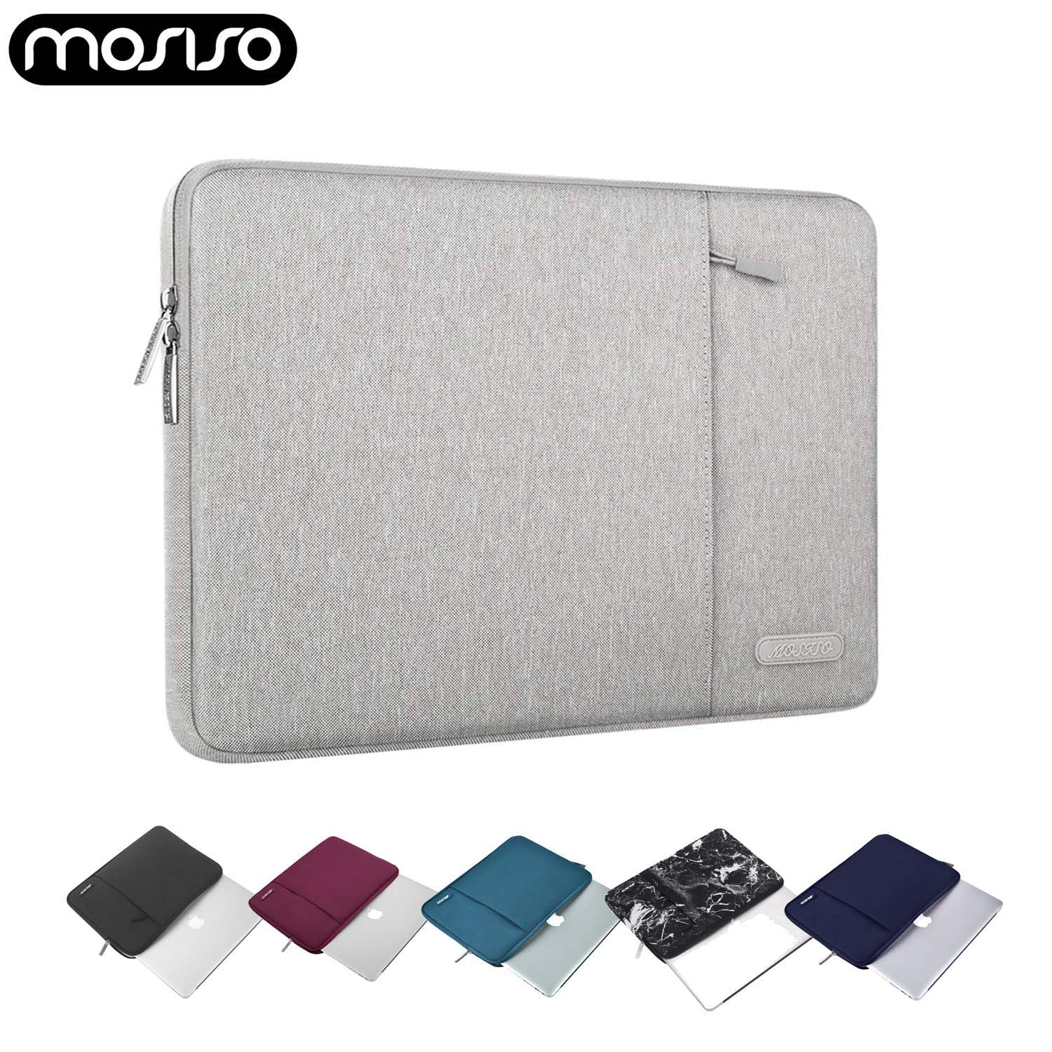 MOSISO Laptop Sleeve Bag 10.5 11 13 14 15 Inch For Macbook Pro Air Notebook 15.6 Soft Sleeve Case For Dell Asus Lenovo HP Acer