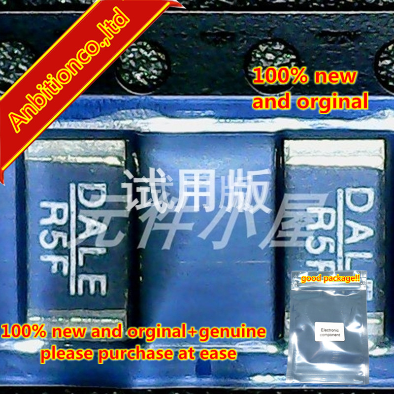 10pcs 100% New And Orginal WSL2512R5000FTA SMD Alloy Resistor DALE R5F 2512 0.5R 1% 1W  In Stock