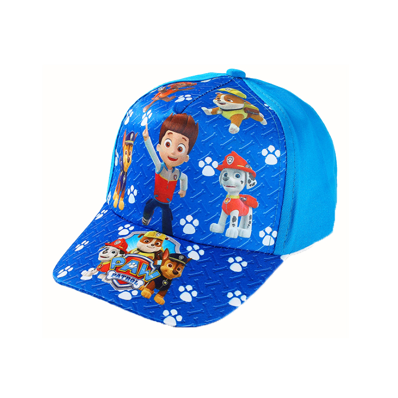 Best selling authentic Paw Patrol cartoon cute comfortable hat psi patrol children kids cotton pat dog new kid toy gift