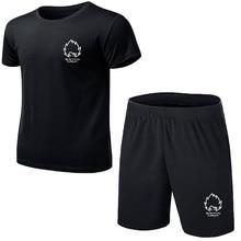 Venda quente camisetas calças verão definir ocasional aptidão jogger calças t camisa hip hop moda masculina marca fatos de treino