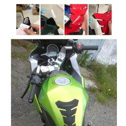 3D наклейки с дизайном «рыбы» мотоциклетная накладка на бак Накладка для защиты кости наклейка газ для Honda Kawasaki Yamaha Suzuki Ducati Bmw KTM топливо