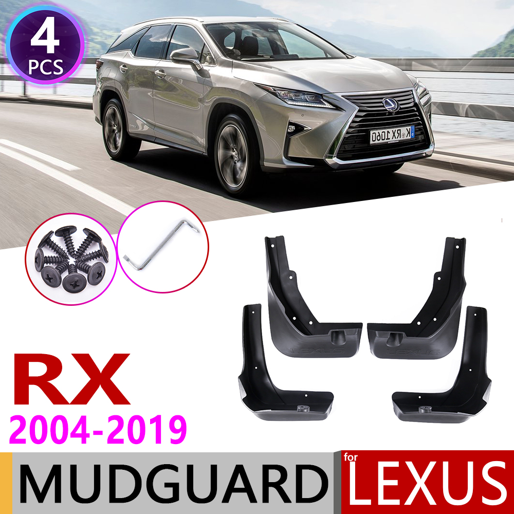 Mudflap for <font><b>Lexus</b></font> RX XU30 AL10 AL20 RX300 RX330 <font><b>RX350</b></font> RX400h 2004~2019 Fender Mud Guard Splash Flaps Mudguards Accessories 2010 image