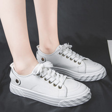 2019 autumn new fashion simple solid color flat shoes women fashion simple solid color sewing thread decorative canvas casual sh solid color pu thread men's casual shoes
