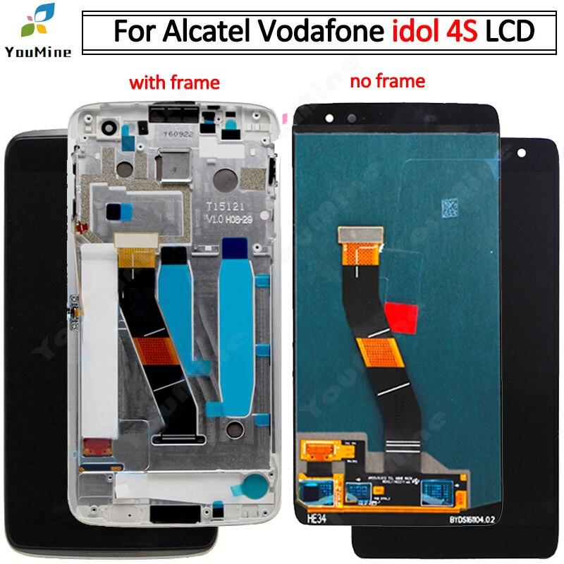"""5.5 """"dla Alcatel Idol 4S dotykowy wyświetlacz Lcd zamienny moduł ekranu naprawa części do obsługi Alcatel Idol 4S OT6070 6070k 6070y w Ekrany LCD do tel. komórkowych od Telefony komórkowe i telekomunikacja na AliExpress - 11.11_Double 11Singles' Day 1"""