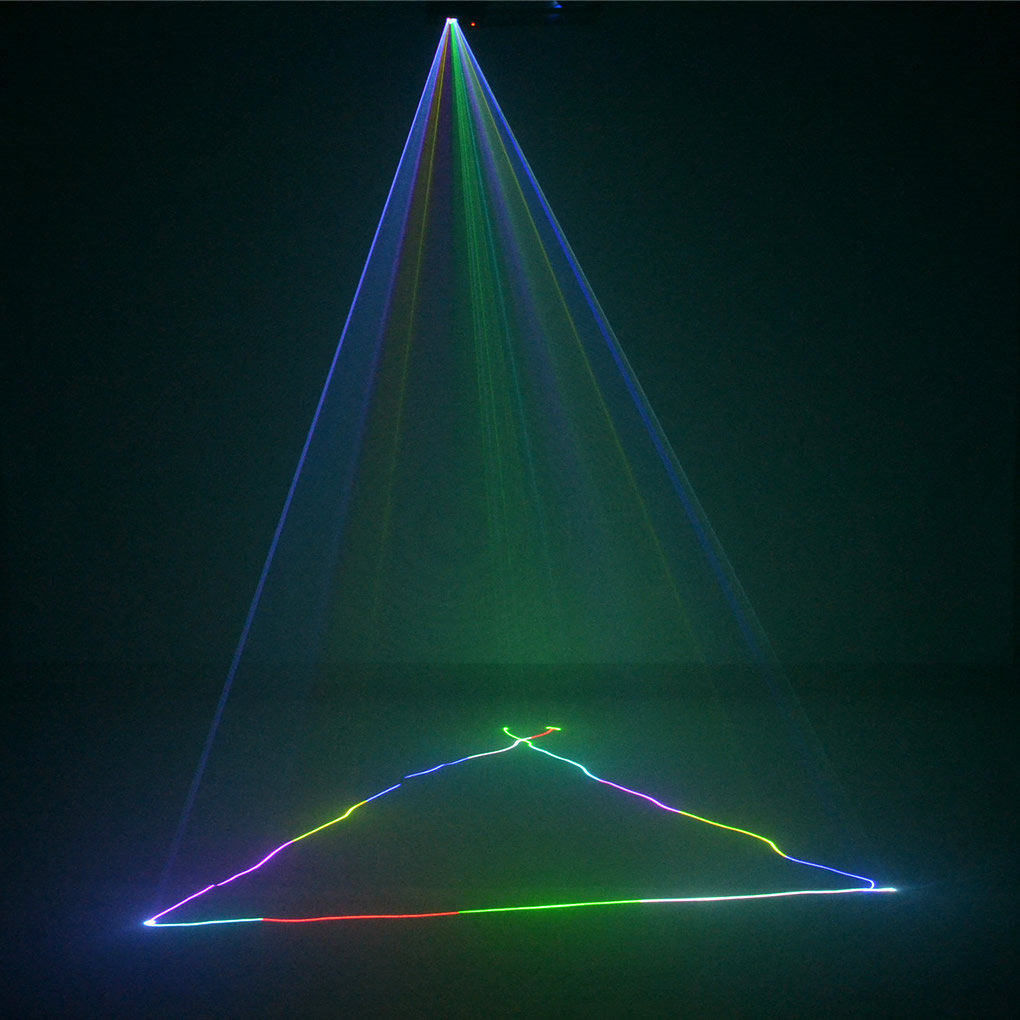AUCD Mini Remote 3D Effect 400mW RGB Full Color Laser Projector - Կոմերցիոն լուսավորություն - Լուսանկար 4