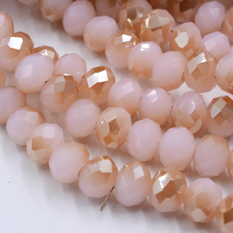 4 мм 140 шт./лот бусины из кристаллов, граненые круглые стеклянные бусины - Цвет: 152