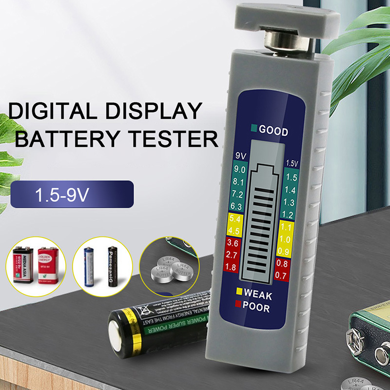 New Digital Display Battery Tester Dry Battery Capacity Tester Built-in Lithium Metal Battery An Indispensable Sovereign Remedy For Home
