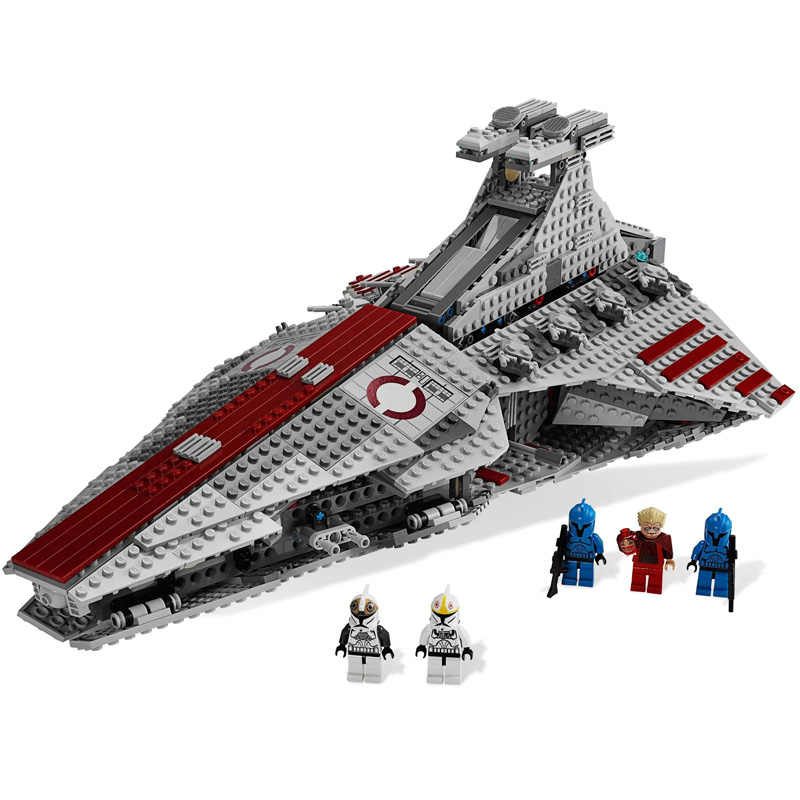 2020 Star MOC Wars Series Venator Class repubblica Attack Cruiser Building Blocks mattoni giocattoli per bambini regali di natale