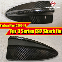 For 3-Series E92 2-door Hard top Car Roof Antenna Shark Fin Carbon Style Accessories Cover E-Style 323i 328i 06-16