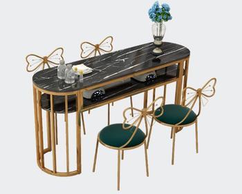 Stół do Manicure pojedynczy podwójny prosty nowoczesny stół do manicure okrągły podwójny stół ekonomiczny stół do manicure stół i krzesło zestaw tanie i dobre opinie Andessoer CN (pochodzenie) Salon mebli Stół paznokci Meble sklepowe