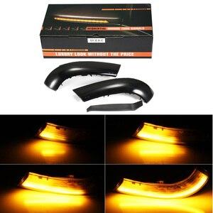 Image 5 - 2 個ダイナミックターン信号 LED バックミラーインジケータウインカーリピータフォルクスワーゲン VW ゴルフ 5 ジェッタ MK5 パサート b5.5 B6