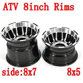Rozmiar 8x5 8x7 koło ze stopu aluminium Hub 8 Cal przednia i tylna piasta koła dla chin Atv motocykl czterokołowy Atv gokart