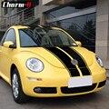 Автомобильный Стайлинг капот крыша Топ задний багажник набор полосок наклейки Винил для Volkswagen Beetle 2002-2006 аксессуары