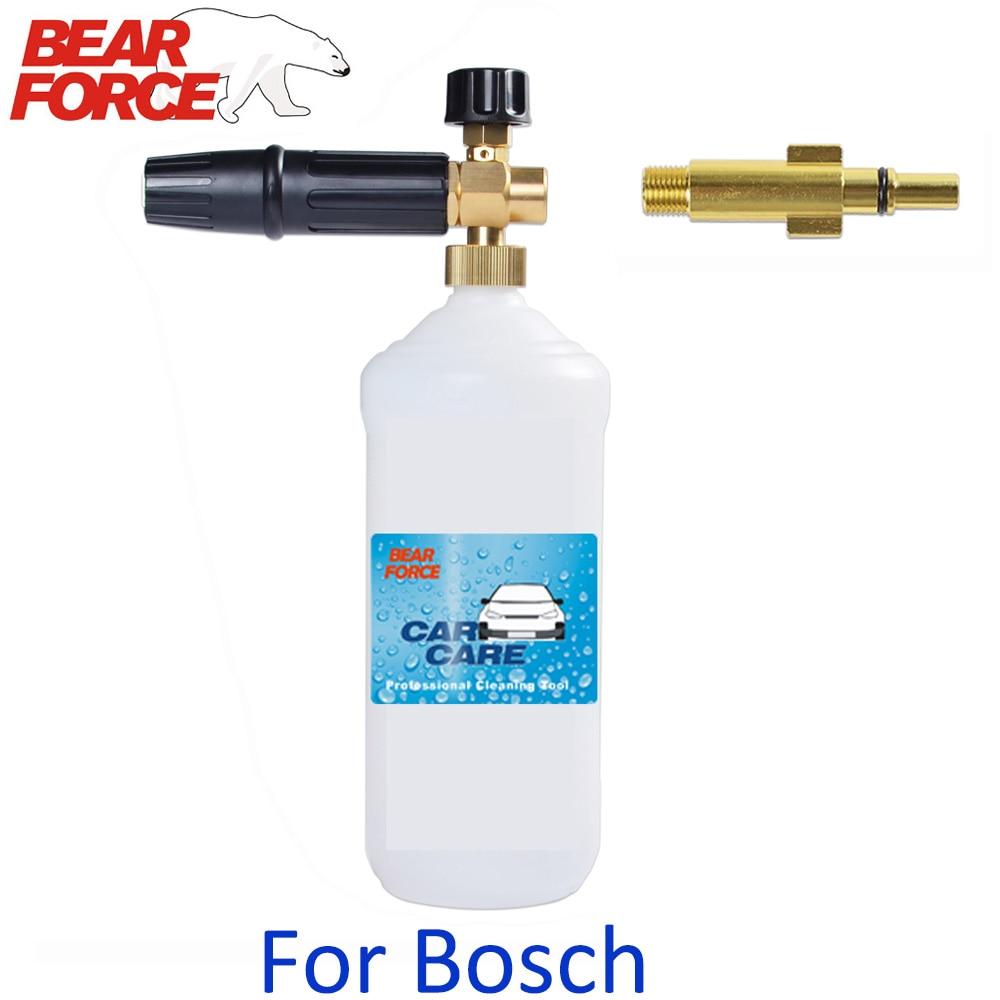 High Pressure Soap Foamer Soap Shampoo Sprayer Snow Foam Lance Car Clean Foam Washer For Bosch AQT AQUATAK High Pressure Washer