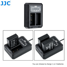 JJC BC W126 USB 듀얼 배터리 충전기 NP W126 NP W126S on Fujifilm XT30 XT3 X100V XT20 XE3 X100F XPRO3 XPro2 XA3 XA5