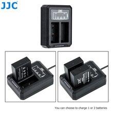 JJC USB двойной Батарея Зарядное устройство для цифровой фотокамеры Fuji Fujifilm NP W126 NP W126S XT3 X100F X Pro2 X Pro1 XT2 XT1 XT30 XT20 XT10 заменяет BC W126