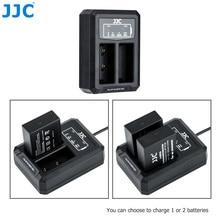 Jjc BC W126 usbデュアルバッテリー充電器NP W126 NP W126S富士フイルムXT30 XT3 X100V XT20 XE3 X100F XPRO3 XPro2 XA3 XA5