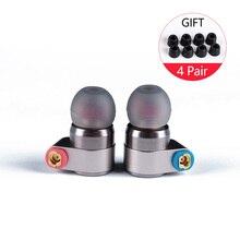 Ak 2017 Tin Audio T2/T2 Pro In Ear Oortelefoon Dubbele Dynamic Drive Hifi Bass Oortelefoon Dj Metalen Oortelefoon headset Hoofd Plug Tin T3