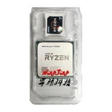 AMD Ryzen 7 2700X R7 2700X3.7 GHz Sekiz Çekirdekli Sinteen Iplik 16 M 105 W CPU işlemci YD270XBGM88AF Soket AM4