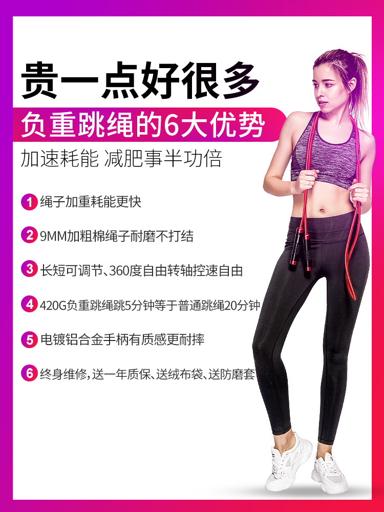 Jump Rope Fitness Students The Academic Test For The Junior High School Students Dance Sports Only Fitness Rope Men Profession F