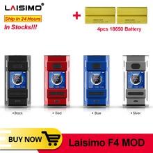 Ban Đầu Laisimo F4 Box MOD 1.3 Inch Nhiều Màu Sắc Màn Hình Trung Tâm 510 Sợi 41Mm Xe Tăng E Thuốc Lá vape Mod VS Squonk Mod
