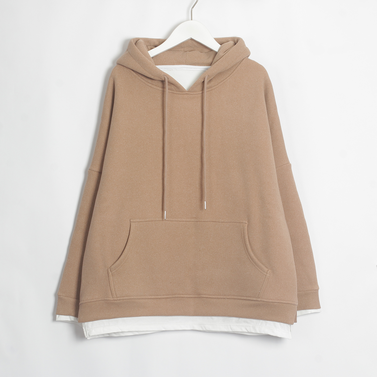 Wixra Women Casual Sweatshirts Warm Velvet Long Sleeve Oversize Hoodies Tops 2019 Autumn Winter Pullover Tops 5