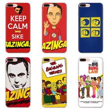 For HTC Desire 530 626 628 630 816 820 830 One A9 M7 M8 M9 M10 E9 U11 U12 Life Plus Soft Transparent Case Big Bang Theory(China)