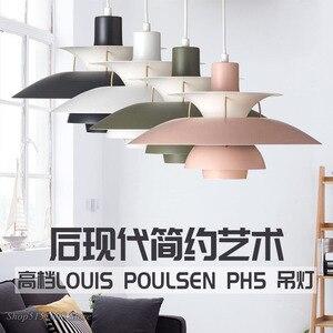Image 3 - Nordique pendentif Led lumières pour salon coloré suspension lampe salle à manger suspension lampe moderne cuisine luminaires
