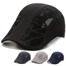 Cap Baseball-Hat Fashion-Brand Women Summer Outdoor Gorras Mesh Breathable