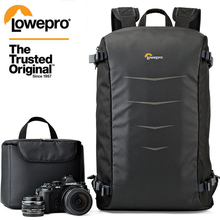 Groothandel Gopro Echt Lowepro Matrix + Bp 23L Digitale Slr Camera Photo Bag Leisure Rugzakken + All Weather Cover
