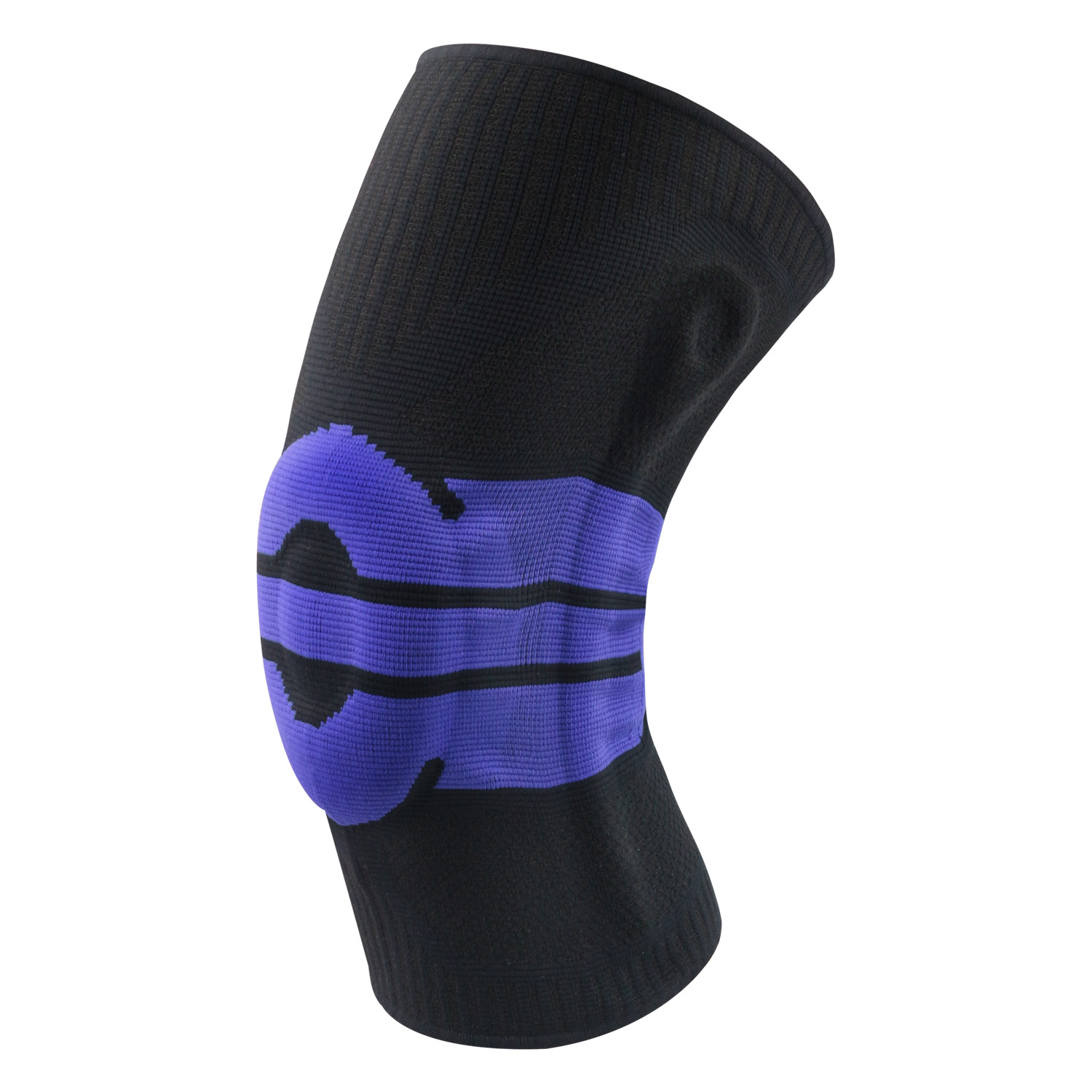 Hot Knee Brace Compression Sleeve Elastic One Piece Knee Support Silicone Gel Spring Support Professional