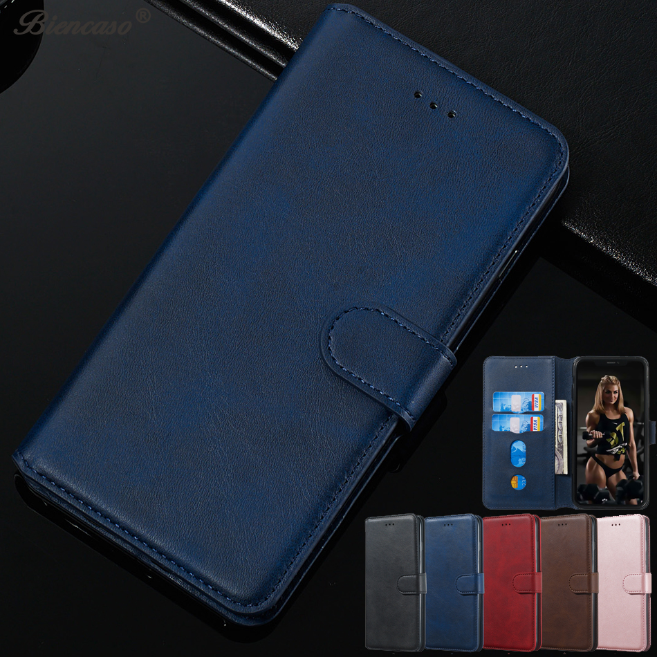 Retro Leather Wallet Case For <font><b>Oppo</b></font> Realme C1 <font><b>F9</b></font> AX7 A5X A9 F11 R19 A9 2020 A5 A11X 3i Phone <font><b>Cover</b></font> Magnet Card Holder <font><b>Flip</b></font> Coque image