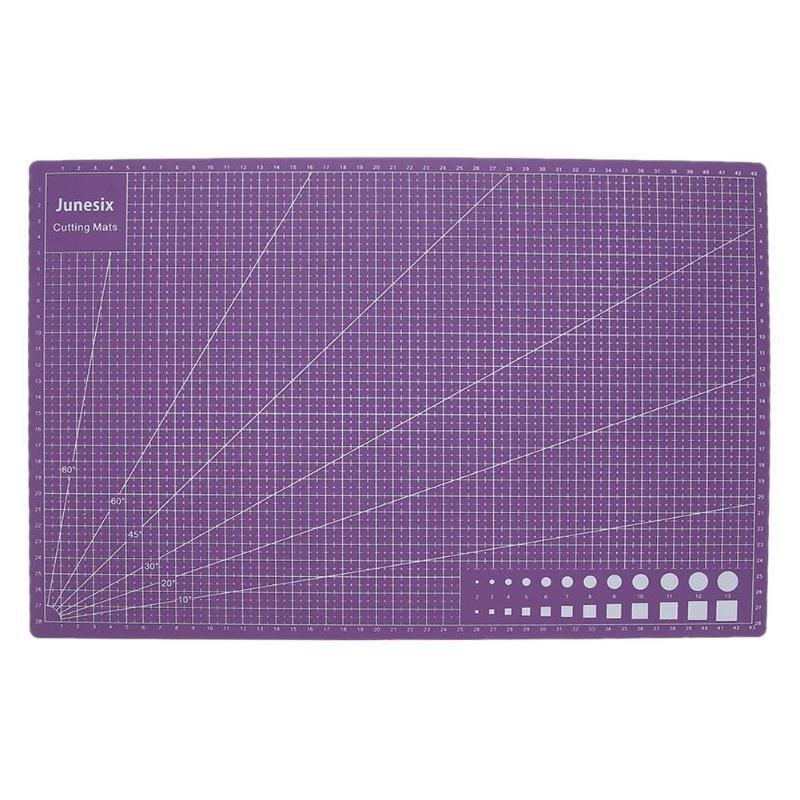 Cutting Board Mats A3 PVC Double Side Self-healing DIY Cutting Board Patchwork Mat